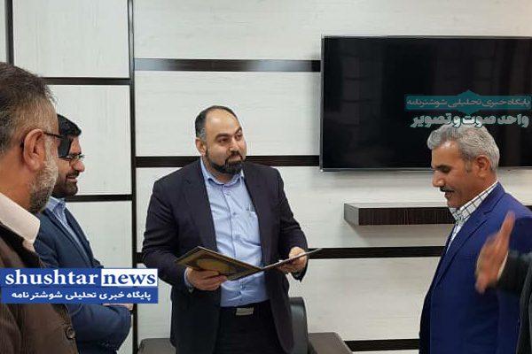 سرپرست جدید اداره تعاونی روستایی شوشتر معارفه شد