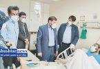 عیادت نماینده شوشتر و گتوند از محیط بان زخمی در تهران