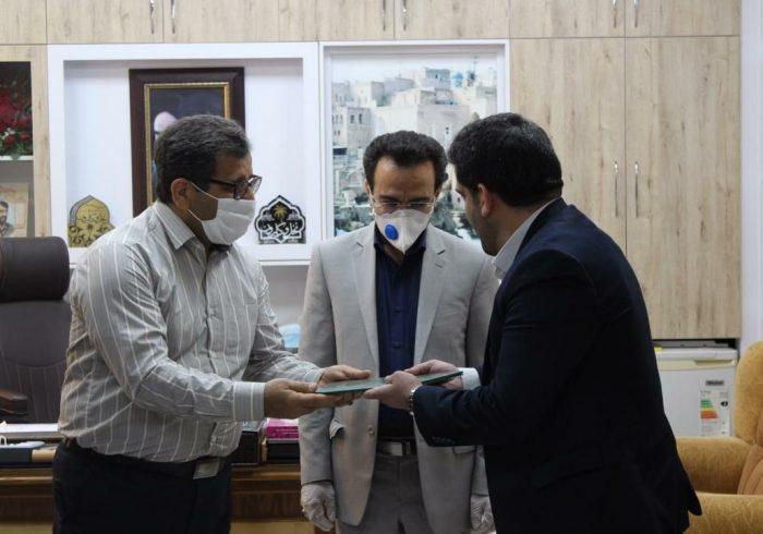 رئیس اداره تعاون، کار و رفاه اجتماعی معارفه شد