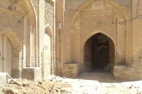مرمت خانه تاریخی رحیمی در شوشتر آغاز شد