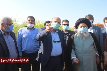 رونمایی از دروگر زنجیرهای نیشکر در کشت و صنعت امام خمینی(ره)