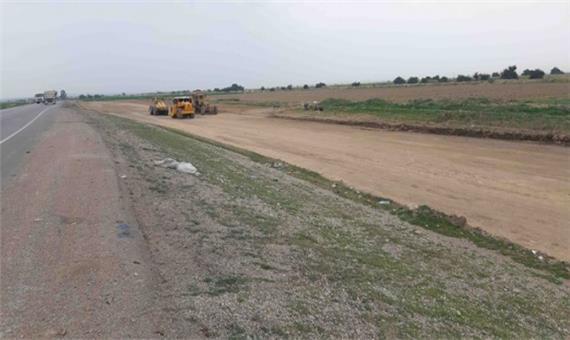 آغاز پروژه چهارخطه کردن ۶ کیلومتر از جاده دزفول