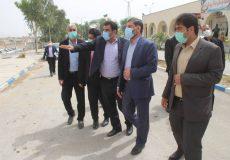 بازدید عیدانه سردار گیلانی از بخش بهداشت و درمان