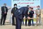 کلنگ زنی و افتتاح پروژههای شهرداری شرافت