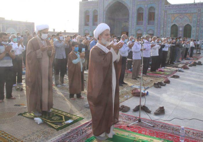 نماز عیدسعید فطر در شوشتر اقامه شد