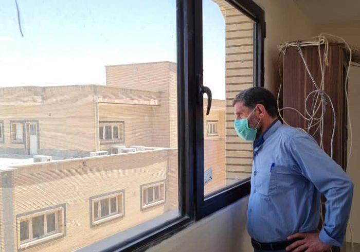 بازدید نماینده شوشتر و گتوند از روند تکمیل ساختمان شماره ۲ بیمارستان شهدای تامین اجتماعی