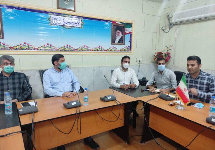دیدار سهراب گیلانی با فرهنگیان شهرستان گتوند