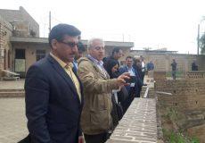کارشناسان یونسکو برای  بررسی وضعیت سازه های آبی وارد شوشتر شدند