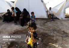وضعیت اردوگاه سیل زدگان شعیبیه