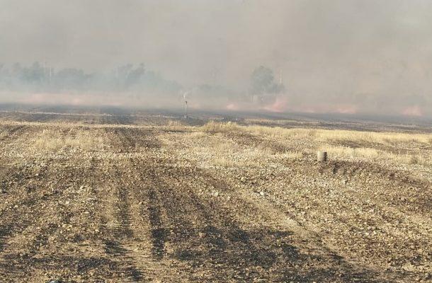 ۶ هکتار مرتع و جنگل در شوشتر در آتش سوخت