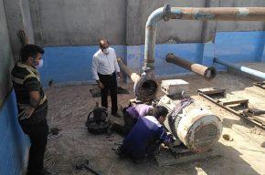 فشار و کیفیت آب شرب پنج روستای شوشتر بهبود یافت